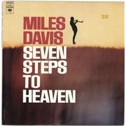 Miles Davis Seven Steps To Heaven USA vinyl LP