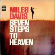 Miles Davis Seven Steps To Heaven UK vinyl LP