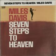 Miles Davis Seven Steps To Heaven Japan vinyl LP