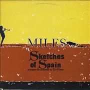 Click here for more info about 'Miles Davis - Sketches Of Spain - Graduated Orange'