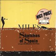 Click here for more info about 'Miles Davis - Sketches Of Spain - Graduated Orange - Nice Price Stickered Sleeve'