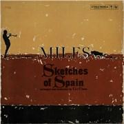 Miles Davis Sketches Of Spain - 'Six Eye' USA vinyl LP