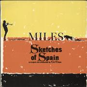 Click here for more info about 'Miles Davis - Sketches Of Spain - smooth/plain orange label'