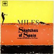 Miles Davis Sketches Of Spain - 1st UK vinyl LP