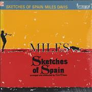 Miles Davis Sketches Of Spain Japan vinyl LP