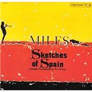 Miles Davis Sketches Of Spain Austria CD album