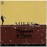 Miles Davis Sketches Of Spain UK vinyl LP