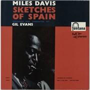Miles Davis Sketches Of Spain Netherlands vinyl LP