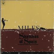 Miles Davis Sketches Of Spain USA vinyl LP