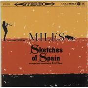 Miles Davis Sketches Of Spain Japan vinyl LP