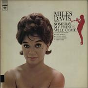 Miles Davis Some Day My Prince Will Come - Club Issue USA vinyl LP
