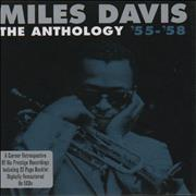 Miles Davis The Anthology '55-'68 UK 5-CD set