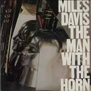 Miles Davis The Man With The Horn - red label Netherlands vinyl LP