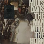 Miles Davis The Man With The Horn - stickered shrink USA vinyl LP