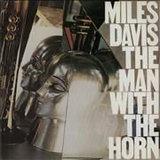 Miles Davis The Man With The Horn UK vinyl LP