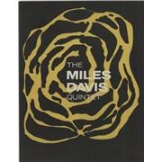 Miles Davis The Miles Davis Quintet - EX UK tour programme