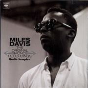 Miles Davis The Original Mono Recordings - Radio Sampler USA CD album Promo