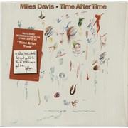 "Miles Davis Time After Time - stickered shrink USA 12"" vinyl"