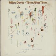 "Miles Davis Time After Time USA 12"" vinyl"