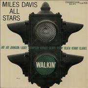Miles Davis Walkin' - W. 50th N.Y.C. USA vinyl LP