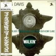 Miles Davis Walkin' Japan vinyl LP