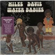 Miles Davis Water Babies - stickered shrink USA vinyl LP