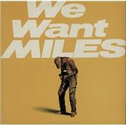 Miles Davis We Want Miles UK 2-LP vinyl set