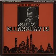 Miles Davis World Of Jazz UK vinyl LP