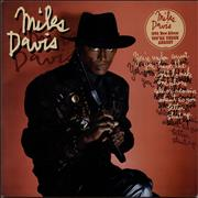 Click here for more info about 'Miles Davis - You're Under Arrest - hype stickered'