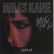 Click here for more info about 'Miles Kane - Give Up - Autographed'