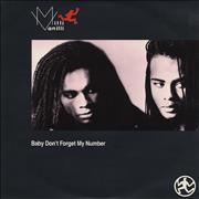 Click here for more info about 'Milli Vanilli - Baby Don't Forget My Number'