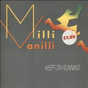 Click here for more info about 'Milli Vanilli - Keep On Running'