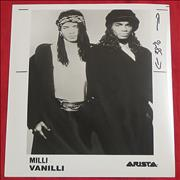 Click here for more info about 'Milli Vanilli - Publicity Photograph'