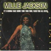 Click here for more info about 'Millie Jackson - It's Gonna Take Some Time This Time / Kiss You All Over'