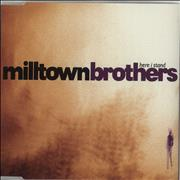 Click here for more info about 'Milltown Brothers - It's All Over Now Baby Blue'