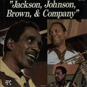 Click here for more info about 'Milt Jackson & Ray Brown - Jackson, Johnson, Brown & Company'