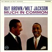 Click here for more info about 'Milt Jackson & Ray Brown - Much In Common'
