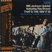 Click here for more info about 'Milt Jackson & Ray Brown - That's The Way It Is + Obi'