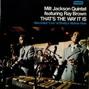 Click here for more info about 'Milt Jackson & Ray Brown - That's The Way It Is'