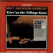 Click here for more info about 'Milt Jackson - 'Live' At The Village Gate - stickered shrink'