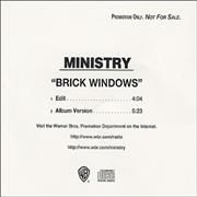 Click here for more info about 'Ministry - Brick Windows'