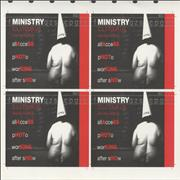 Click here for more info about 'Ministry - C.L.I.Tour US And The World Tour Pass - Uncut Sheet'