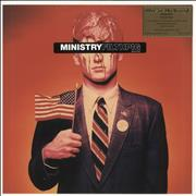 Ministry Filth Pig - Blue Marbled 180 Gram Netherlands vinyl LP