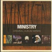 Ministry Original Album Series - Sealed UK 5-CD set
