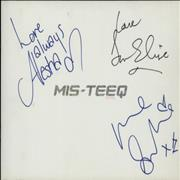 Click here for more info about 'Mis-Teeq - Tour 2003 - Autographed on Front Cover'