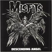 Click here for more info about 'Misfits - Descending Angel -  Black With White And Grey Splatter'