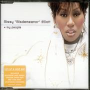 Click here for more info about 'Missy Misdemeanor Elliott - 4 My People - CD1'