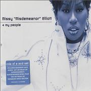 Click here for more info about 'Missy Misdemeanor Elliott - 4 My People'