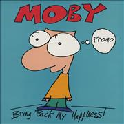 Click here for more info about 'Moby - Bring Back My Happiness'