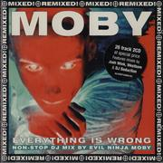 Click here for more info about 'Moby - Everythging Is Wrong [DJ Mix Album]'